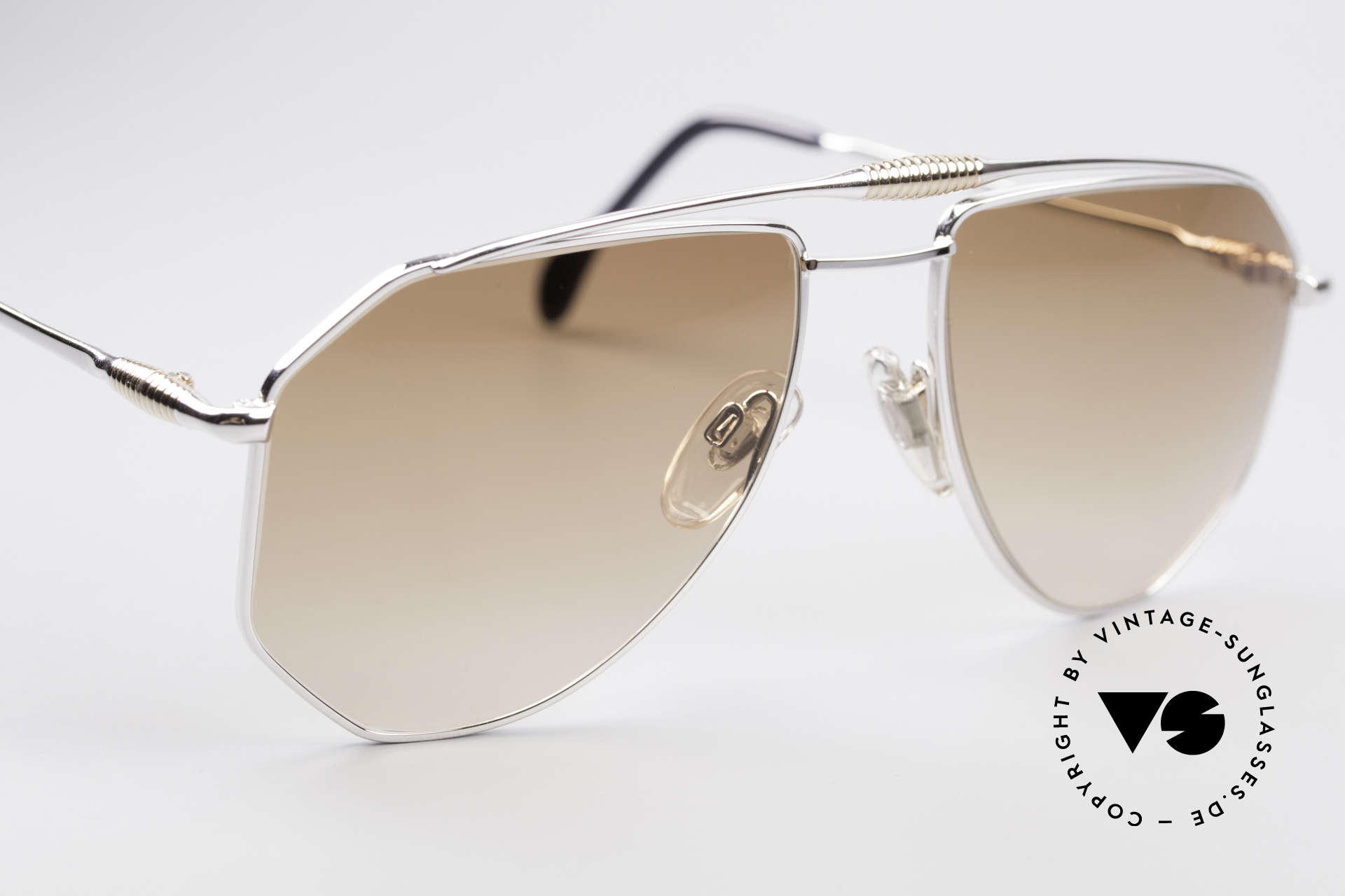 Zollitsch Cadre 120 Large 80's Aviator Shades, NO retro shades, but a 30 years old original, L size 58/18, Made for Men