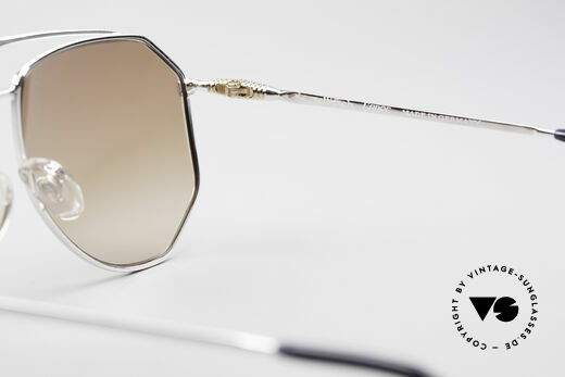 Zollitsch Cadre 120 Large 80's Aviator Shades, Size: large, Made for Men