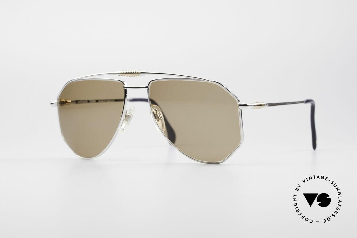 Zollitsch Cadre 120 Large Aviator Sunglasses, vintage Zollitsch designer sunglasses from the late 80's, Made for Men