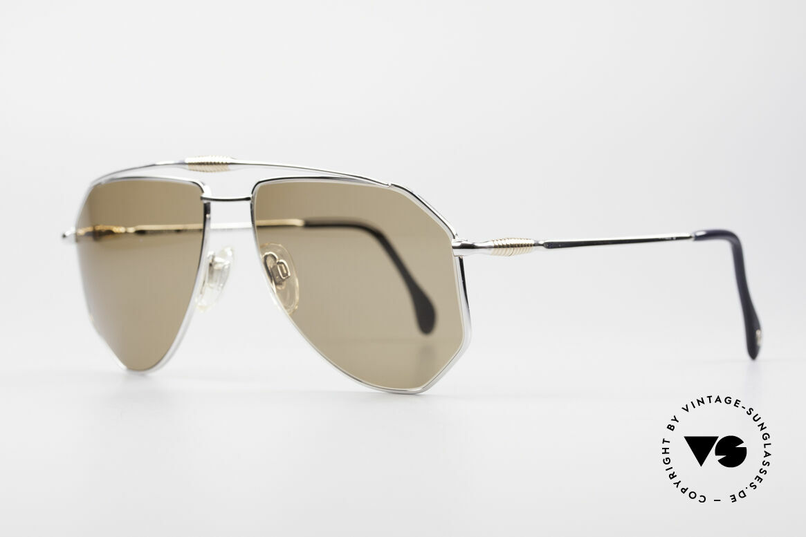 Zollitsch Cadre 120 Large Aviator Sunglasses, an interesting alternative to the ordinary 'aviator style', Made for Men