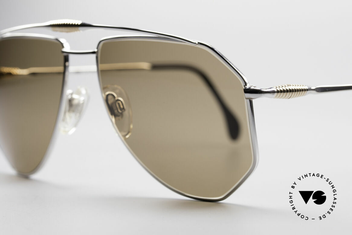 Zollitsch Cadre 120 Large Aviator Sunglasses, unworn (like all our rare vintage ZOLLITSCH sunglasses), Made for Men