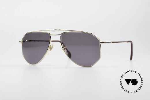 Zollitsch Cadre 120 Medium 80's Aviator Shades Details