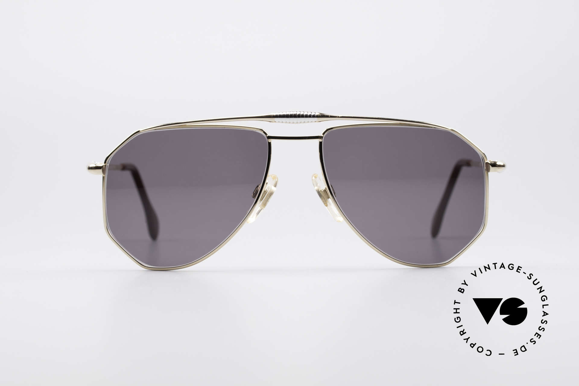 Zollitsch Cadre 120 Medium 80's Aviator Shades, distinctive frame for men (outstanding quality, Germany), Made for Men