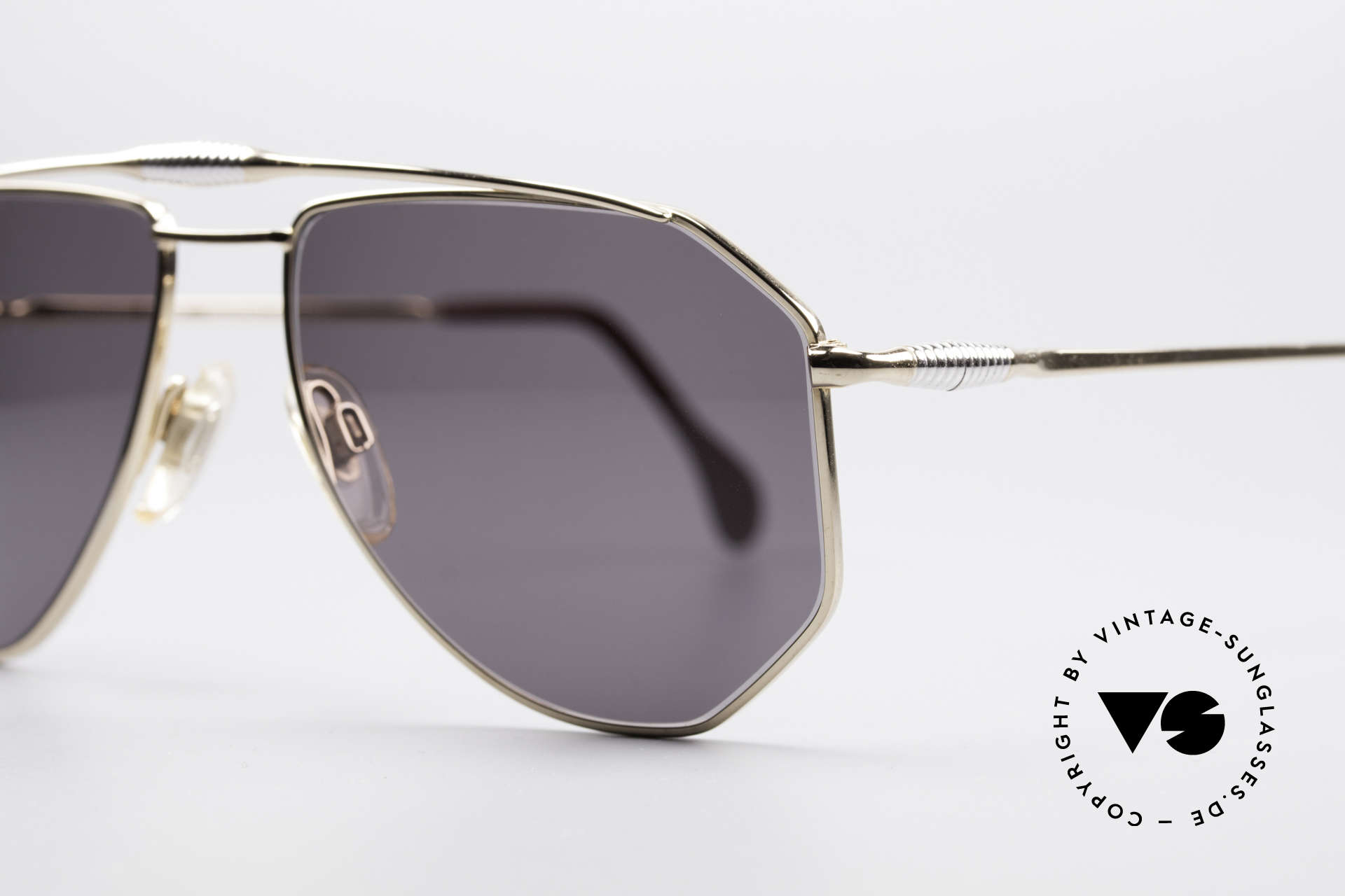 Zollitsch Cadre 120 Medium 80's Aviator Shades, unworn (like all our rare vintage ZOLLITSCH sunglasses), Made for Men