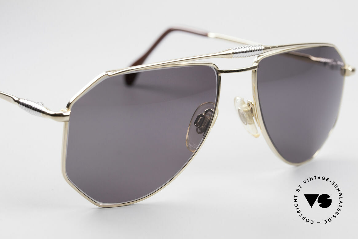 Zollitsch Cadre 120 Medium 80's Aviator Shades, NO retro shades, but a 30 years old original, M size 56/18, Made for Men