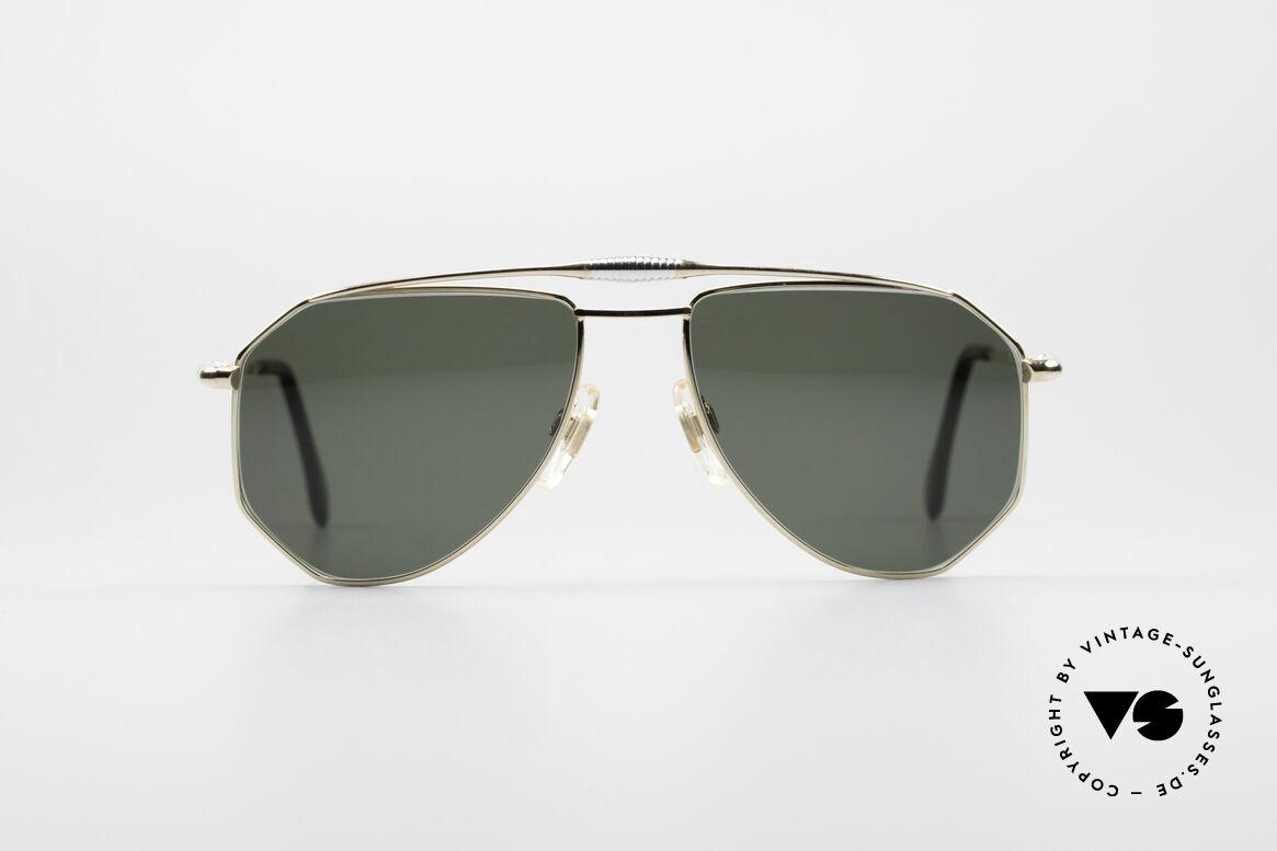 Zollitsch Cadre 120 Medium 80's Aviator Glasses, distinctive frame for men (outstanding quality, Germany), Made for Men