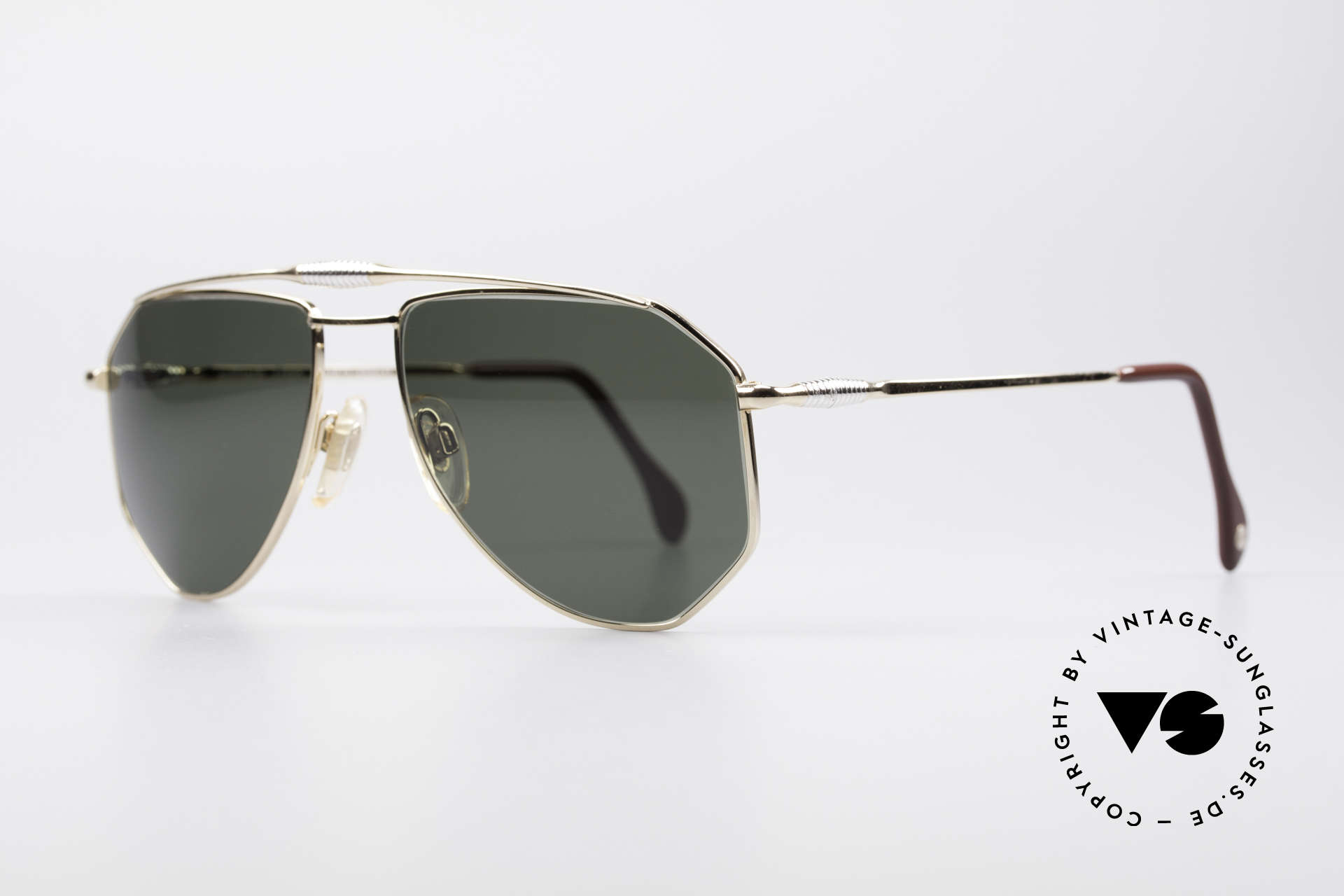 Zollitsch Cadre 120 Medium 80's Aviator Glasses, an interesting alternative to the ordinary 'aviator style', Made for Men