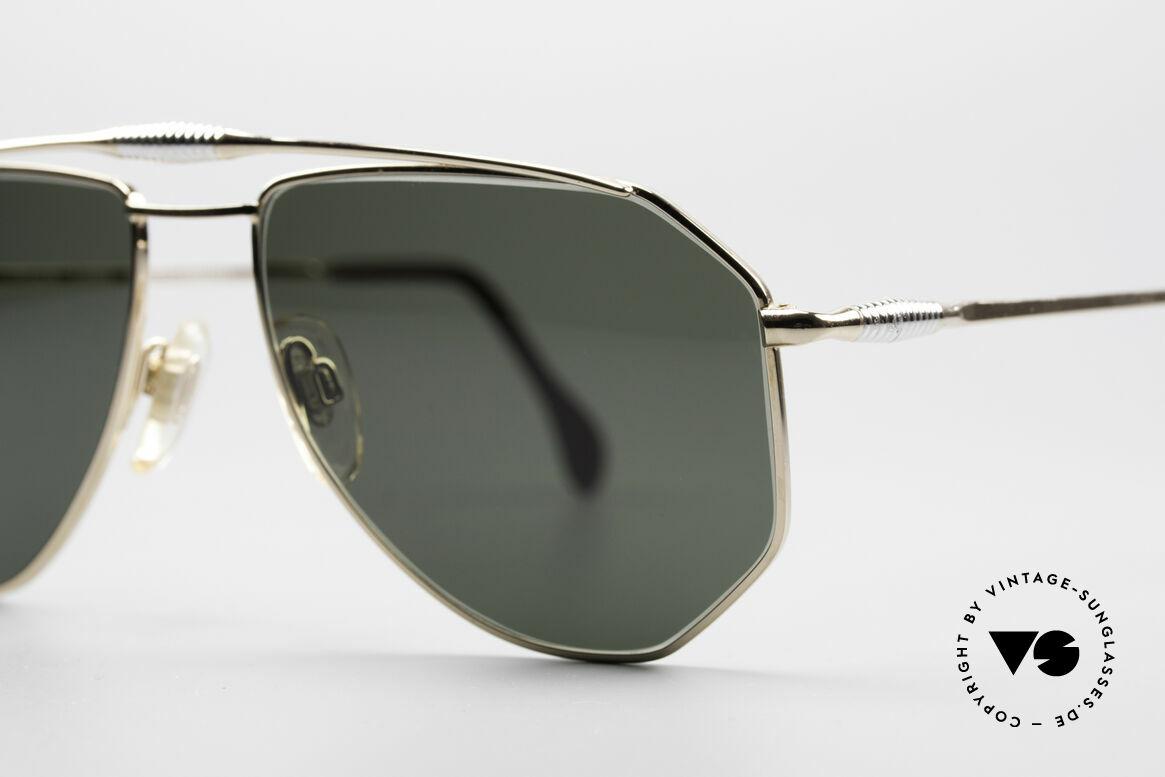 Zollitsch Cadre 120 Medium 80's Aviator Glasses, unworn (like all our rare vintage ZOLLITSCH sunglasses), Made for Men
