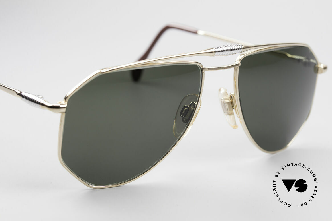 Zollitsch Cadre 120 Medium 80's Aviator Glasses, NO retro shades, but a 30 years old original, M size 56/18, Made for Men