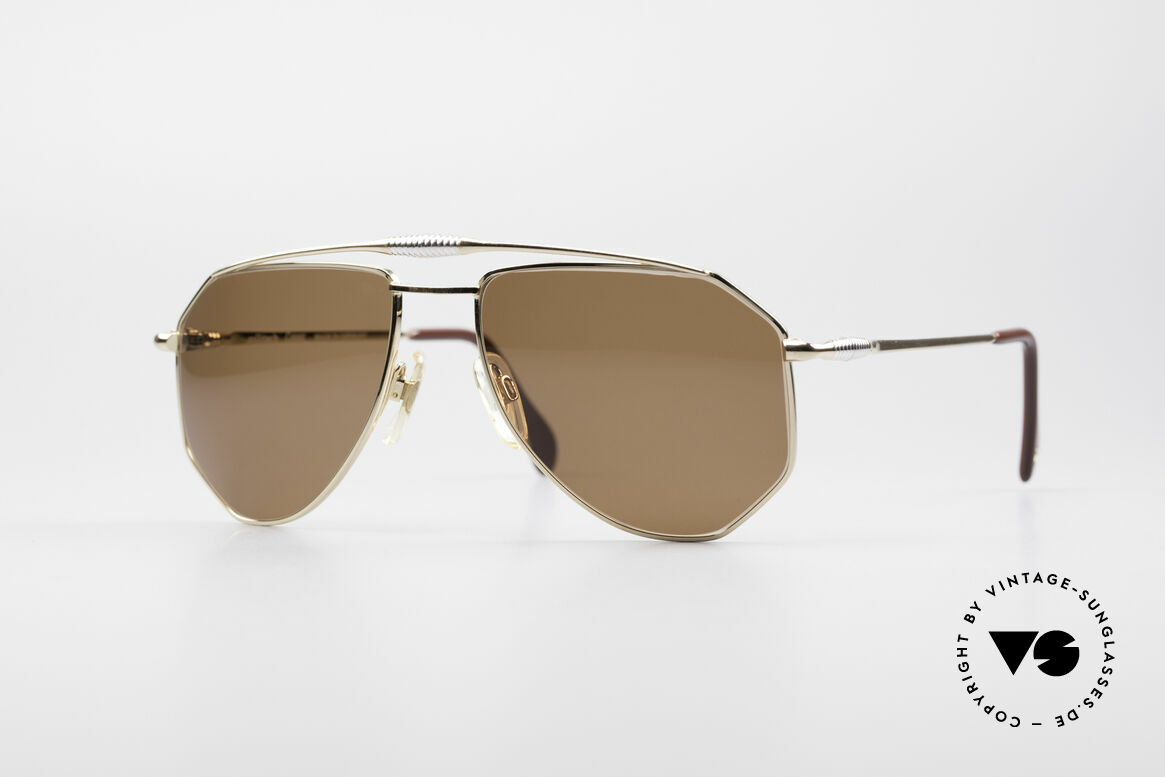Zollitsch Cadre 120 Medium 80's Sunglasses, vintage Zollitsch designer sunglasses from the late 80's, Made for Men