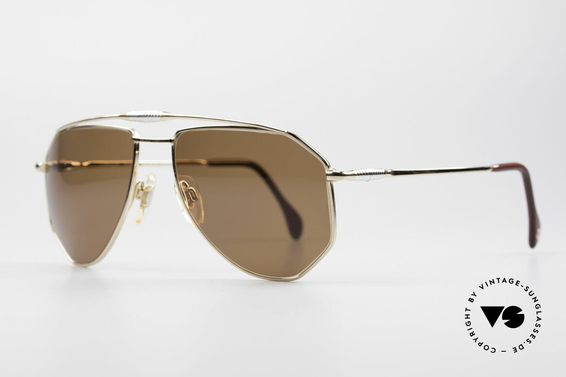 Zollitsch Cadre 120 Medium 80's Sunglasses, an interesting alternative to the ordinary 'aviator style', Made for Men