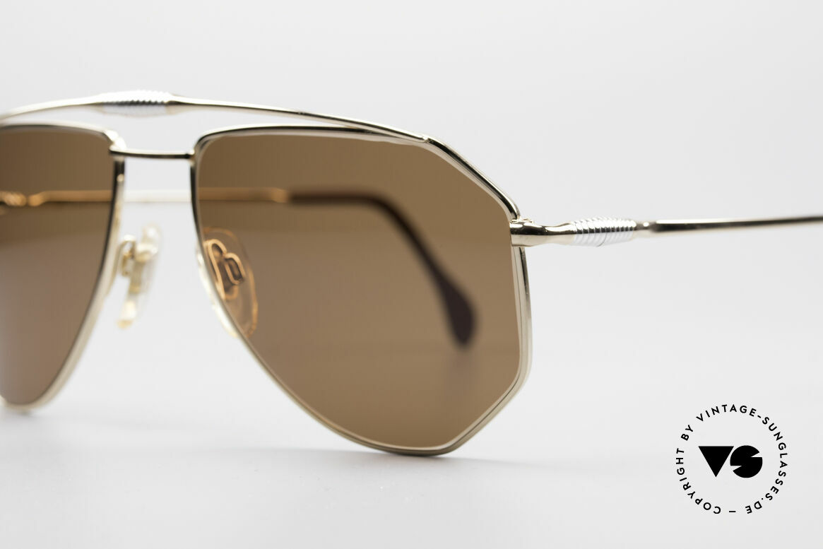 Zollitsch Cadre 120 Medium 80's Sunglasses, unworn (like all our rare vintage ZOLLITSCH sunglasses), Made for Men