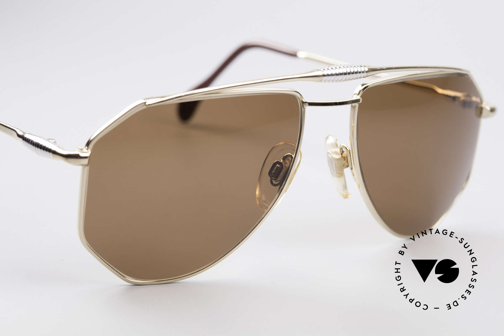 Zollitsch Cadre 120 Medium 80's Sunglasses, NO retro shades, but a 30 years old original, M size 56/18, Made for Men