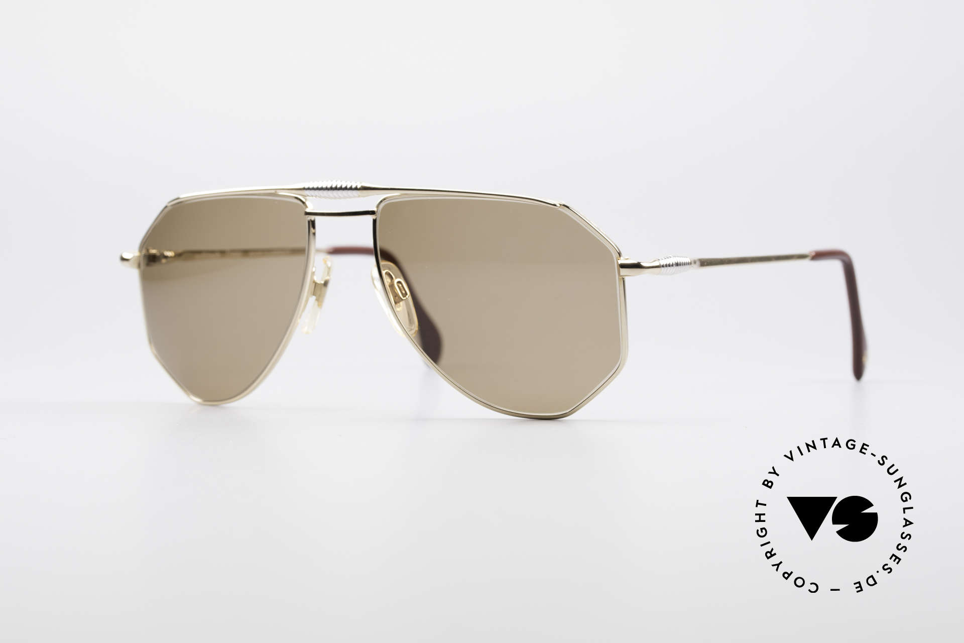 Zollitsch Cadre 120 Medium 80's Men's Sunglasses, vintage Zollitsch designer sunglasses from the late 80's, Made for Men