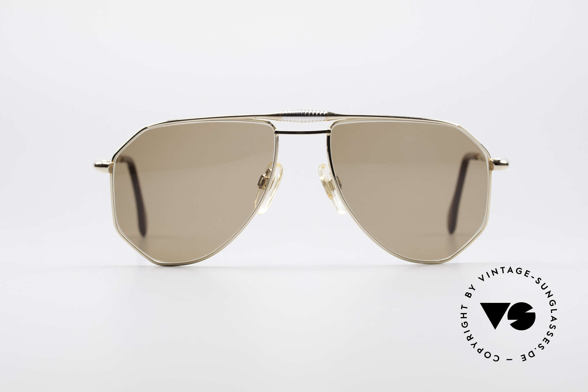 Zollitsch Cadre 120 Medium 80's Men's Sunglasses, distinctive frame for men (outstanding quality, Germany), Made for Men