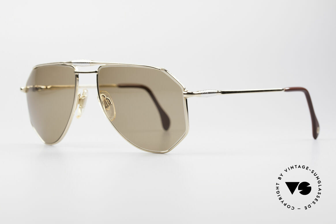 Zollitsch Cadre 120 Medium 80's Men's Sunglasses, an interesting alternative to the ordinary 'aviator style', Made for Men