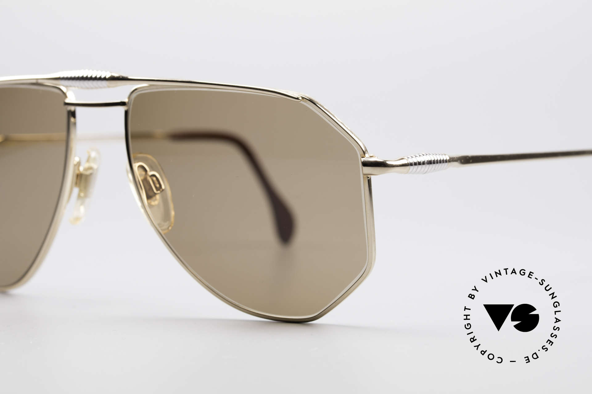 Zollitsch Cadre 120 Medium 80's Men's Sunglasses, unworn (like all our rare vintage ZOLLITSCH sunglasses), Made for Men