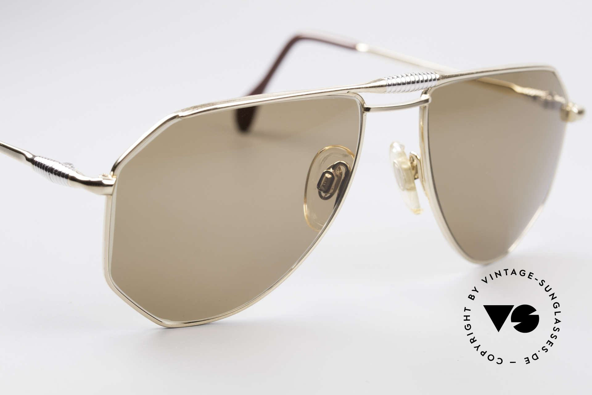Zollitsch Cadre 120 Medium 80's Men's Sunglasses, NO retro shades, but a 30 years old original, M size 56/18, Made for Men