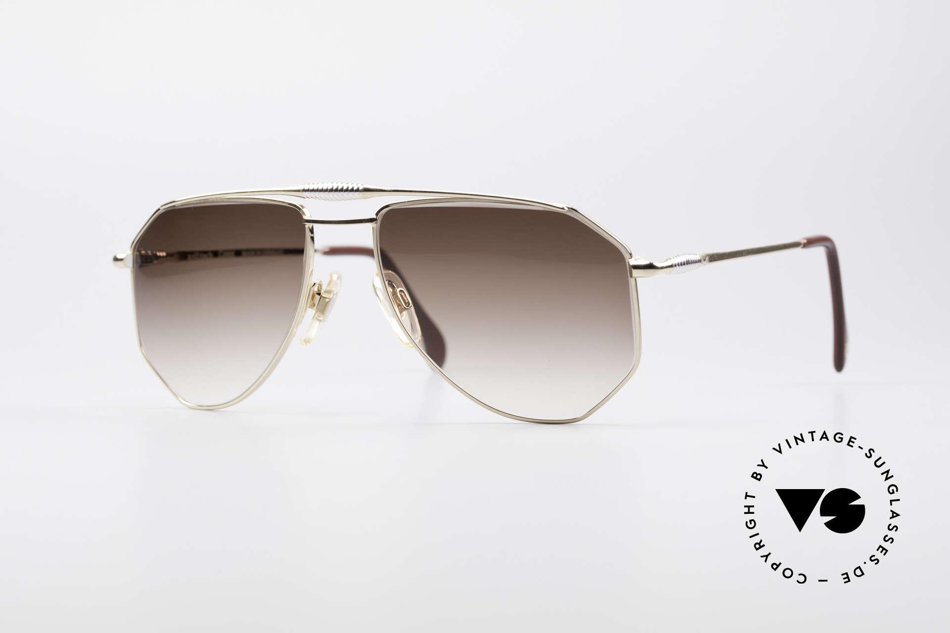 Zollitsch Cadre 120 Medium 80's Vintage Shades, vintage Zollitsch designer sunglasses from the late 80's, Made for Men