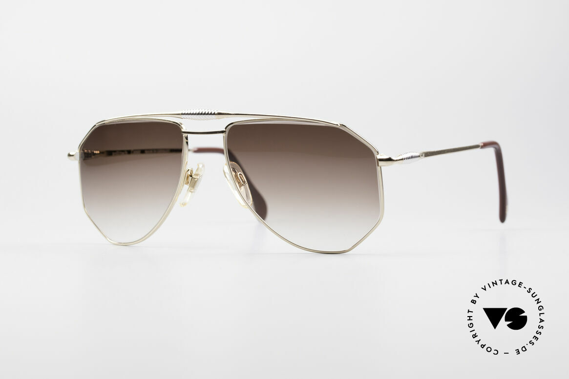 Zollitsch Cadre 120 Medium 80's Vintage Shades, vintage Zollitsch designer sunglasses from the late 80's, Made for Men