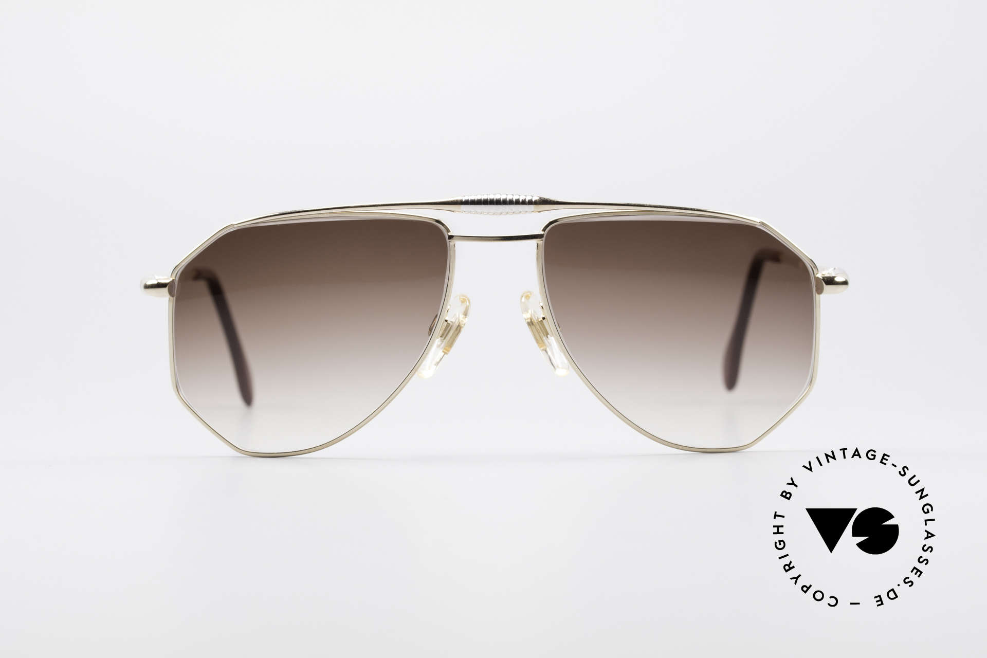 Zollitsch Cadre 120 Medium 80's Vintage Shades, distinctive frame for men (outstanding quality, Germany), Made for Men