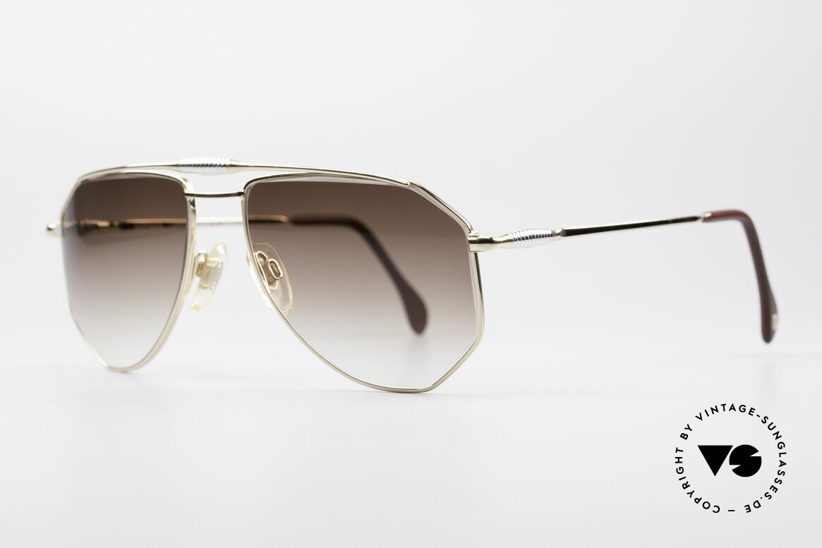 Zollitsch Cadre 120 Medium 80's Vintage Shades, an interesting alternative to the ordinary 'aviator style', Made for Men