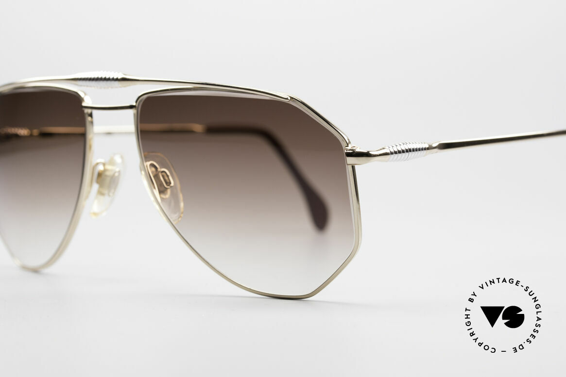 Zollitsch Cadre 120 Medium 80's Vintage Shades, unworn (like all our rare vintage ZOLLITSCH sunglasses), Made for Men