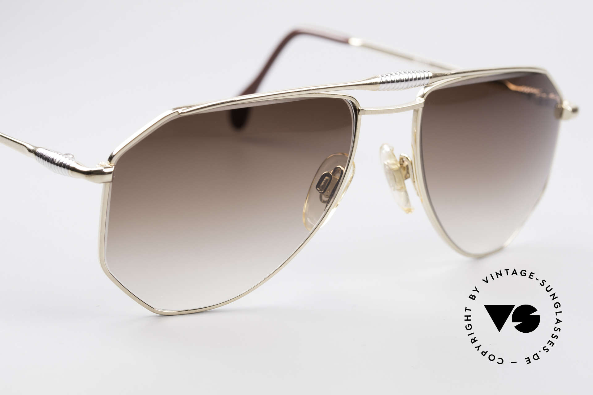 Zollitsch Cadre 120 Medium 80's Vintage Shades, NO retro shades, but a 30 years old original, M size 56/18, Made for Men