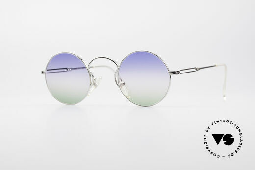 Jean Paul Gaultier 55-0172 Round Designer Sunglasses Details