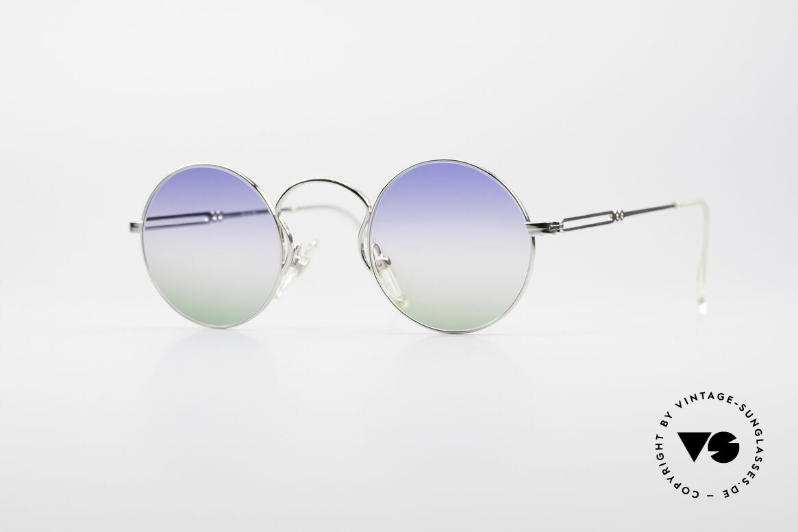 Jean Paul Gaultier 55-0172 Round Designer Sunglasses, designer sunglasses by Jean Paul Gaultier from 1994, Made for Men and Women