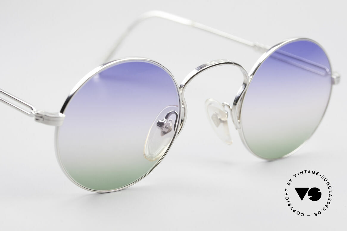 Jean Paul Gaultier 55-0172 Round Designer Sunglasses, new old stock (like all our rare vintage sunglasses), Made for Men and Women