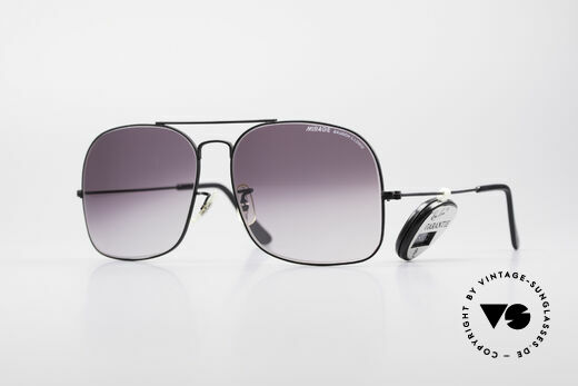 Bausch & Lomb Mirage 80's USA Vintage Shades Details