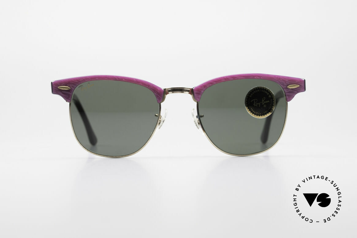 Ray Ban Clubmaster Bausch & Lomb USA Shades, Bausch & Lomb G-15 quality lenses (100% UV), Made for Women