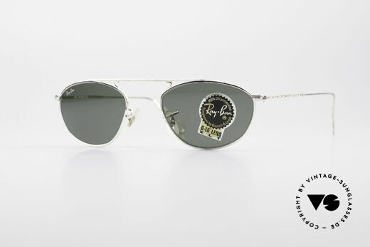 Ray Ban Modified Aviator Vintage B&L USA Frame Details
