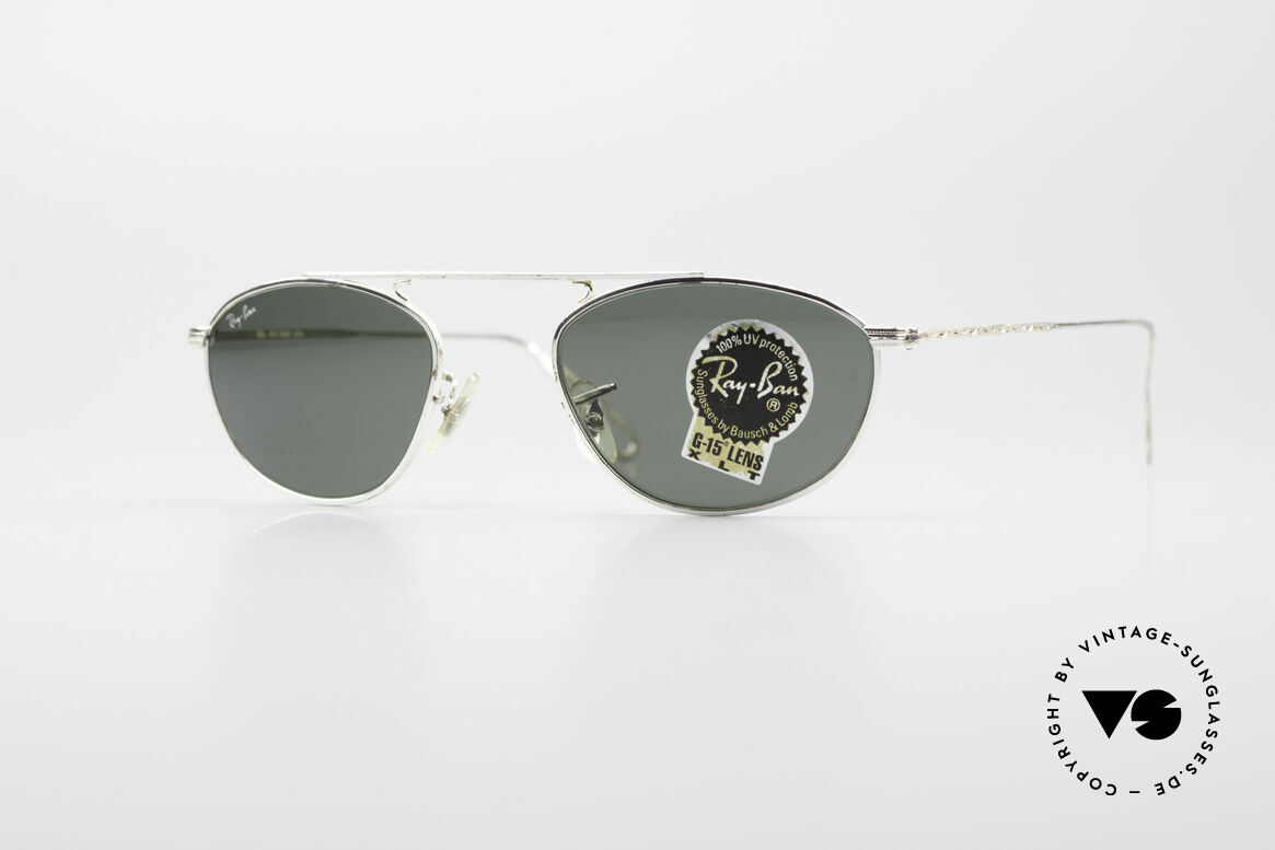 Ray Ban Modified Aviator Vintage B&L USA Frame, Ray-Ban sunglasses of the 'Vintage Metal Collection', Made for Men and Women