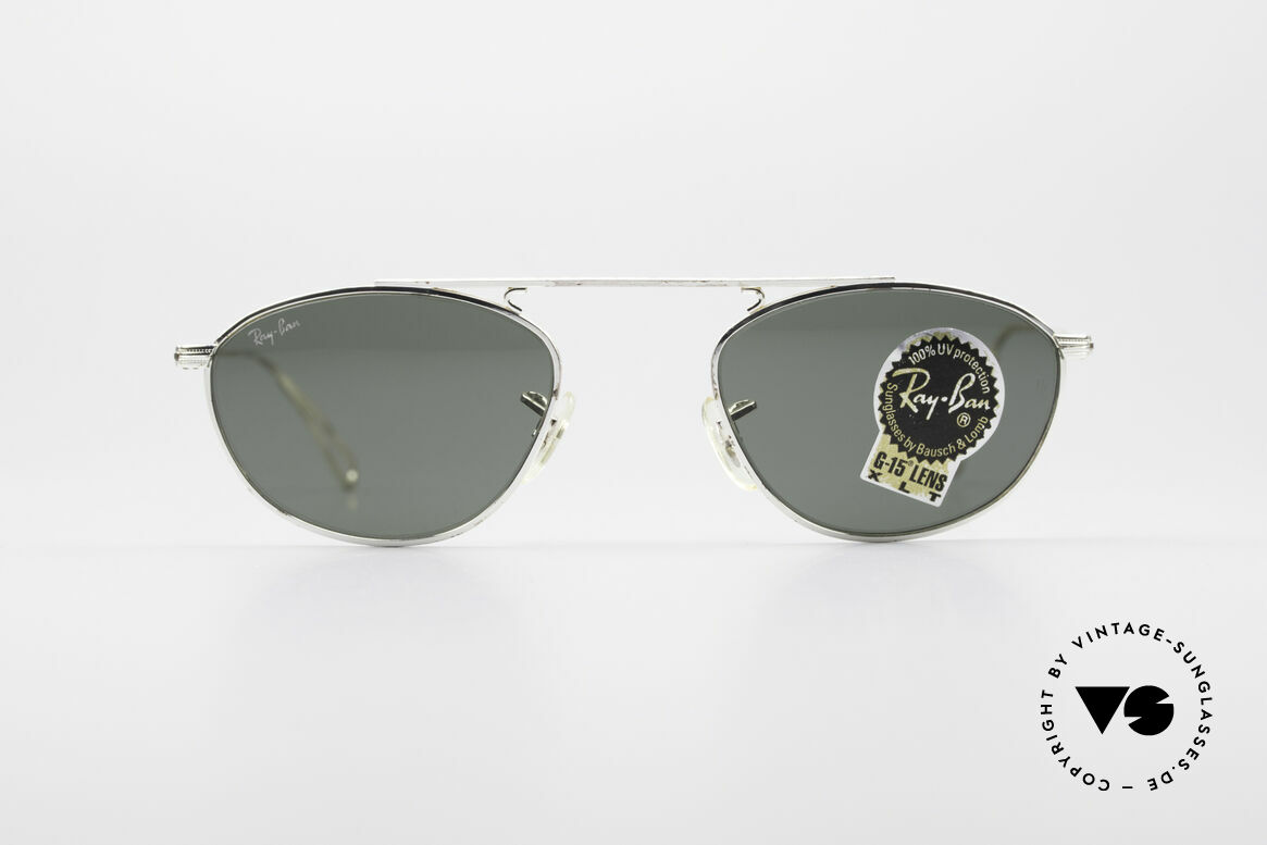 Ray Ban Modified Aviator Vintage B&L USA Frame, precious old original by Bausch&Lomb (made in USA), Made for Men and Women