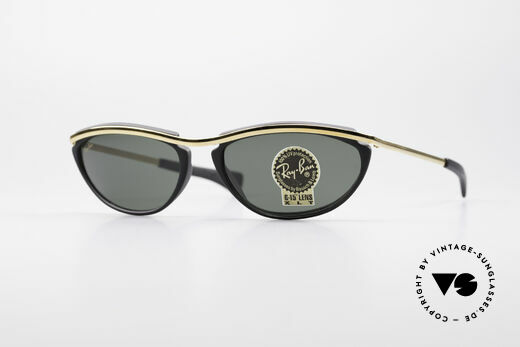 Ray Ban Olympian IV Authentic 90's B&L USA Shades Details