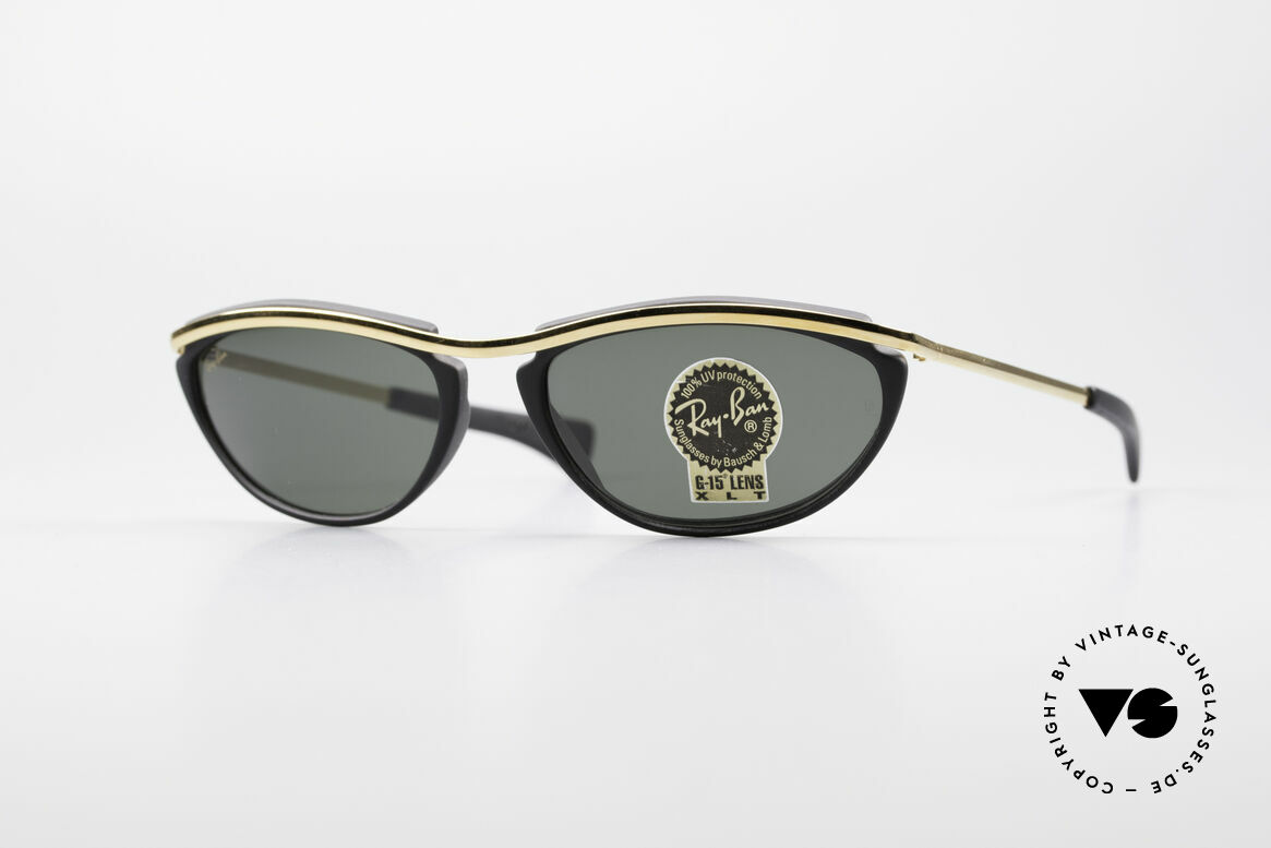 Ray Ban Olympian IV Authentic 90's B&L USA Shades, sporty model from the famous Olympian Series, Made for Men and Women