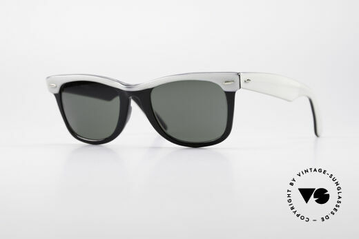 Ray Ban Wayfarer I 80's USA B&L Sunglasses Details