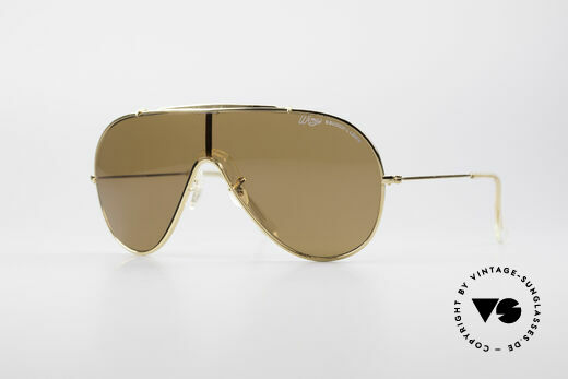 Bausch & Lomb Wings Amber Rose Vintage Shades Details