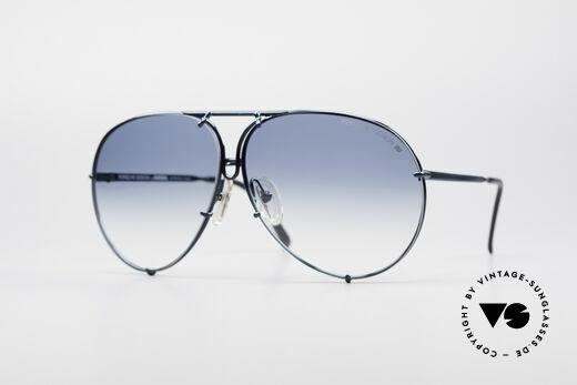Porsche 5623 Rare 80's Aviator Sunglasses Details