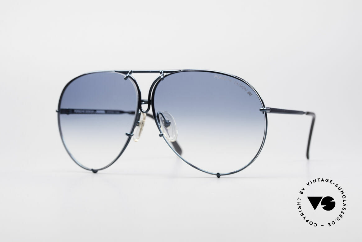 Porsche 5623 Rare 80's Aviator Sunglasses, vintage PORSCHE Design by Carrera shades from 1987, Made for Men and Women
