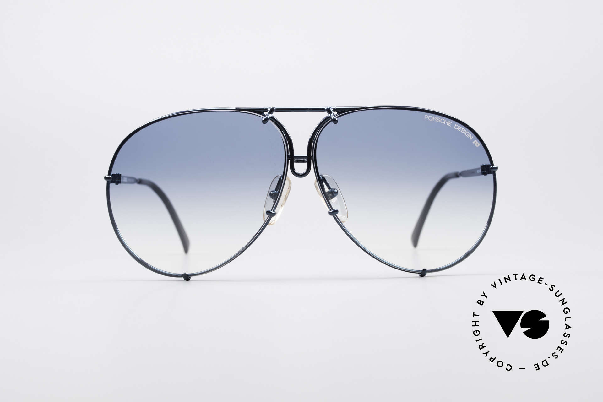 Porsche 5623 Rare 80's Aviator Sunglasses, the legendary classic with the interchangeable lenses, Made for Men and Women
