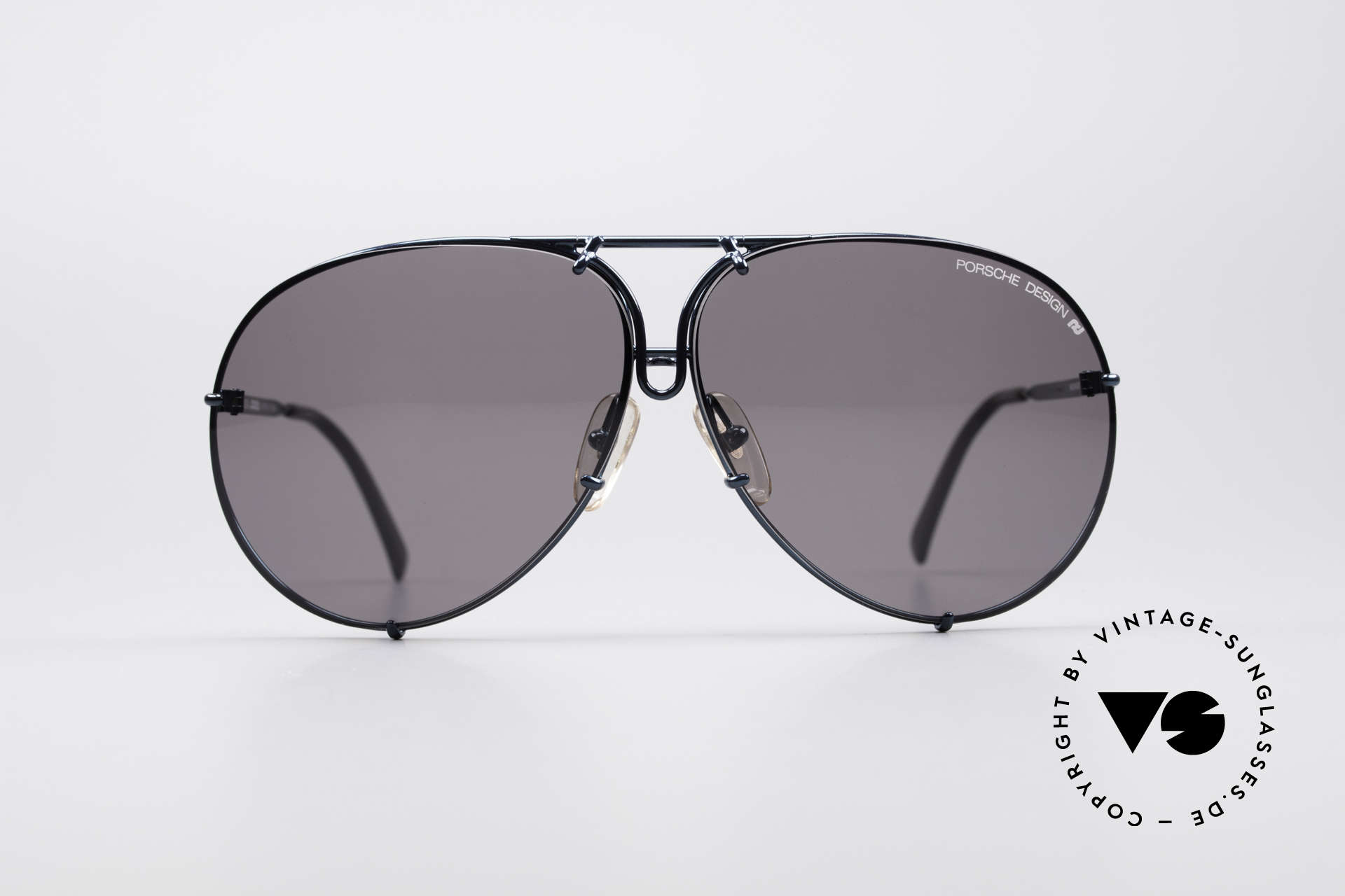 Porsche 5623 Rare 80's Aviator Sunglasses, unworn rarity incl. orig. Porsche case; collector's item, Made for Men and Women
