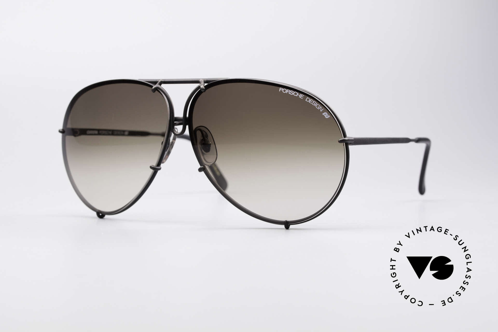 Porsche 5621 Large 80's Aviator Shades, vintage Porsche Design by Carrera shades from 1987, Made for Men