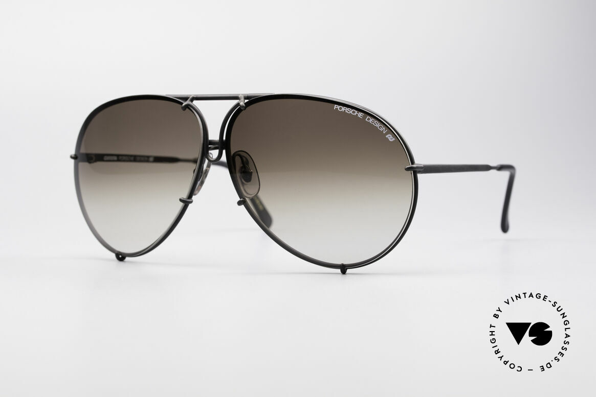 Porsche 5621 Large 80's Aviator Shades
