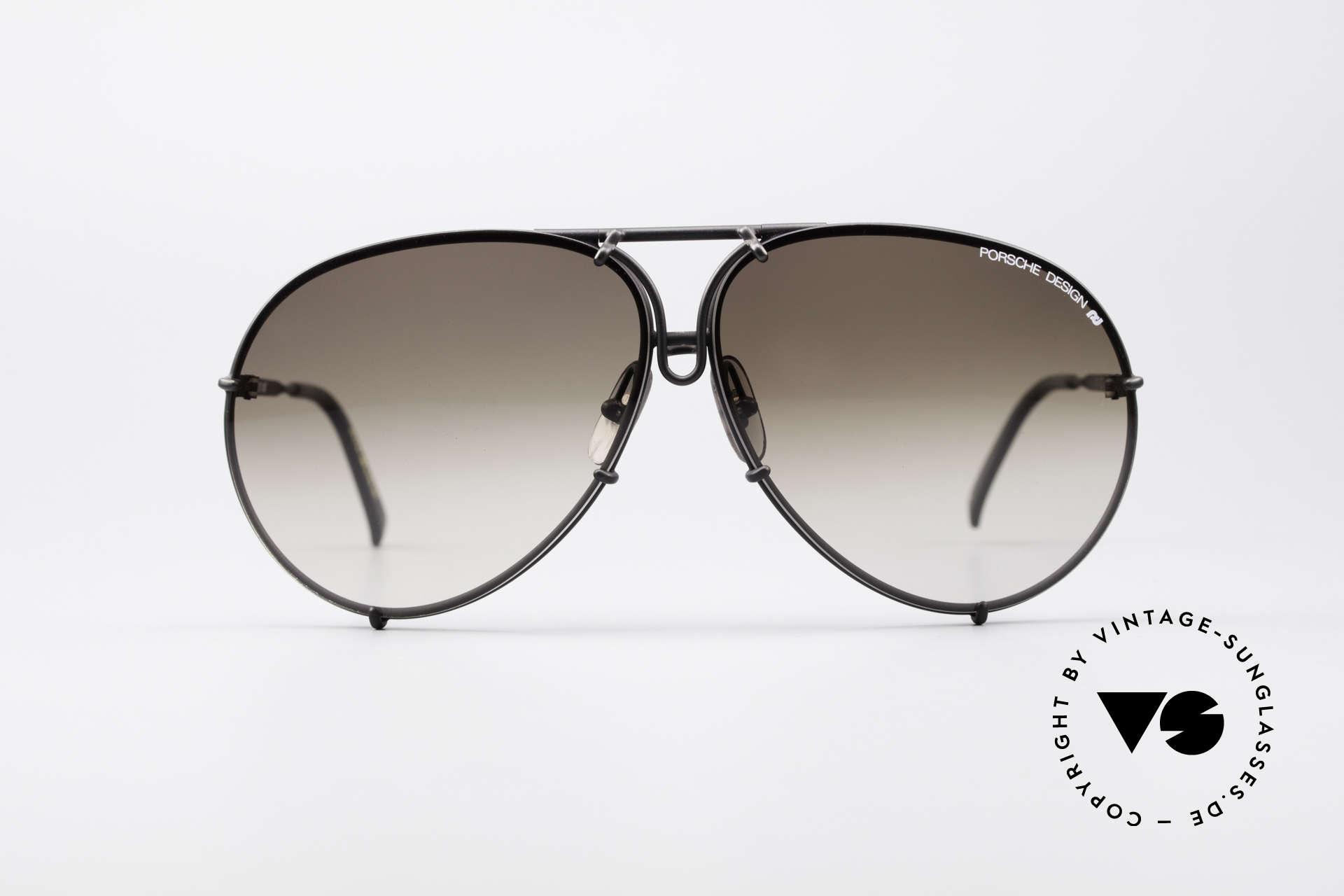 dcf8a1a0180 Sunglasses Porsche 5621 Large 80 s Aviator Shades