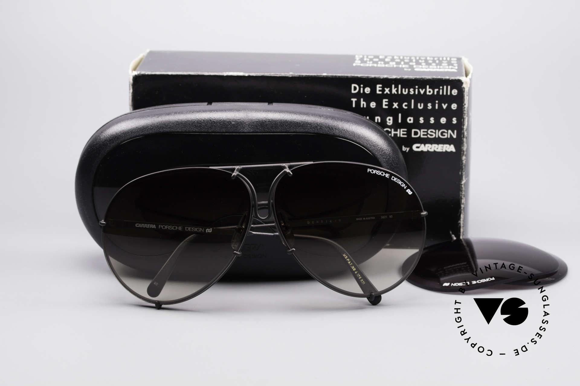 083c03bc04 Sunglasses Porsche 5621 Large 80 s Aviator Shades