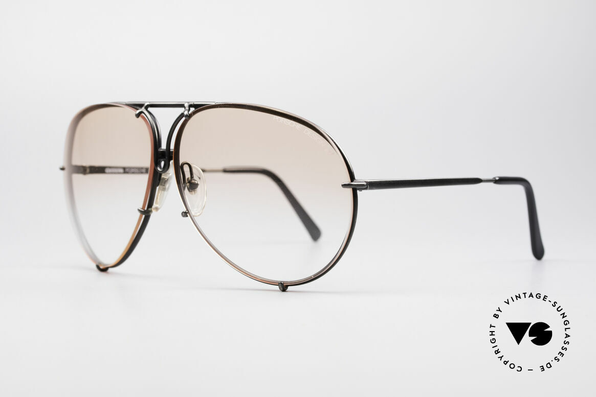 Porsche 5621 Rare 80's XL Aviator Shades, the legend with interchangeable lenses; true vintage, Made for Men