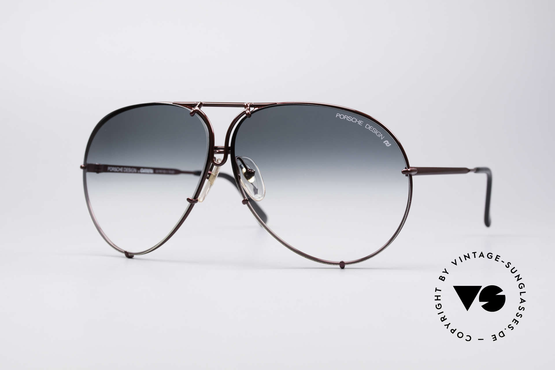 Porsche 5621 XL 80's Aviator Sunglasses, vintage Porsche Design by Carrera shades from 1987, Made for Men and Women